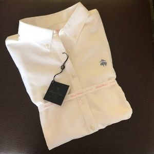 Brooks Brothers White Button Down Shirt NWT